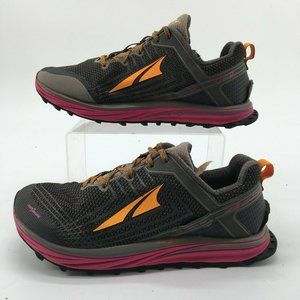 Altra Womens 9 Timp 1.5 Trail Running Sneakers Gre